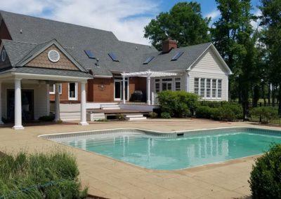 A  pool beauty revealed